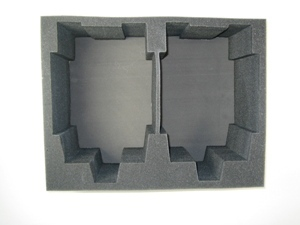 "Battlefoam: WH40K: Imperial Guard: Tray: 2 Baneblade (4"")"