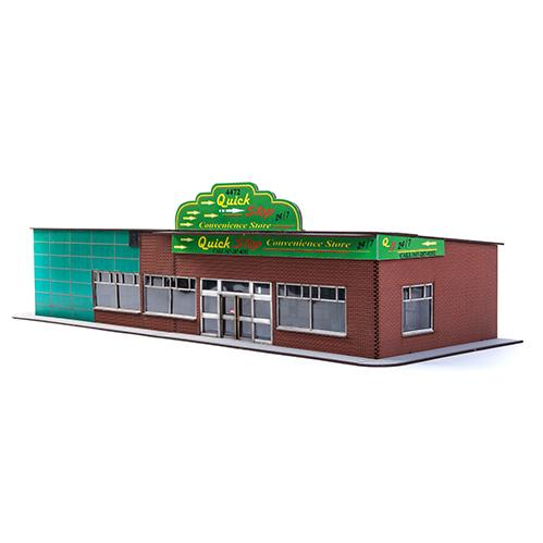 4Ground Miniatures: 28mm Home Land Apocalypse: Quick Stop Convenience Store