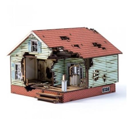 4Ground Miniatures: 28mm Home Land Apocalypse: Woodbury Rise 463