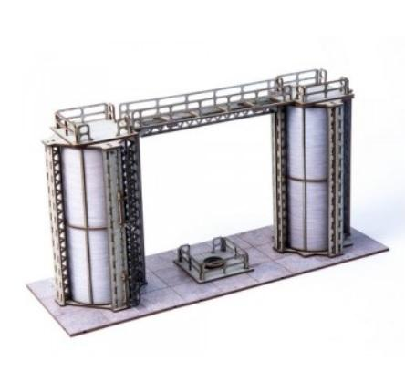 4Ground Miniatures: 28mm Jesserai: Industrial Ward #1 (With Magnets)