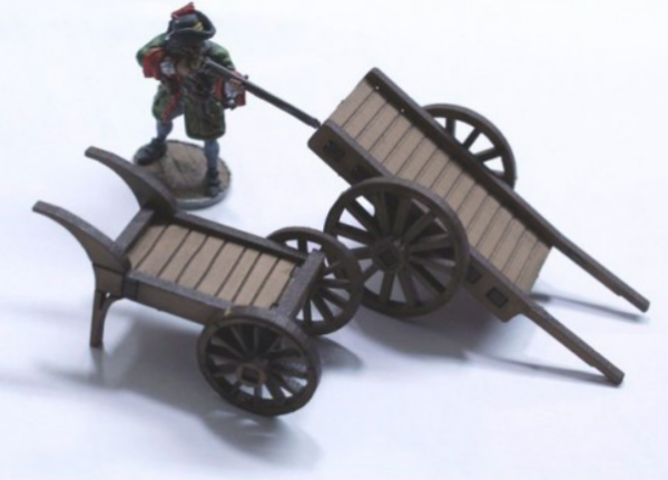 4Ground Miniatures: 28mm Ports Of Plunder: Carts