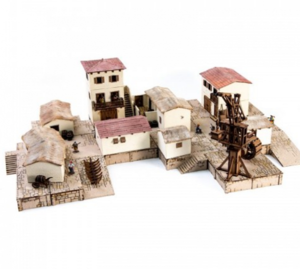 4Ground Miniatures: 28mm Ports Of Plunder: Pirate Cove Set
