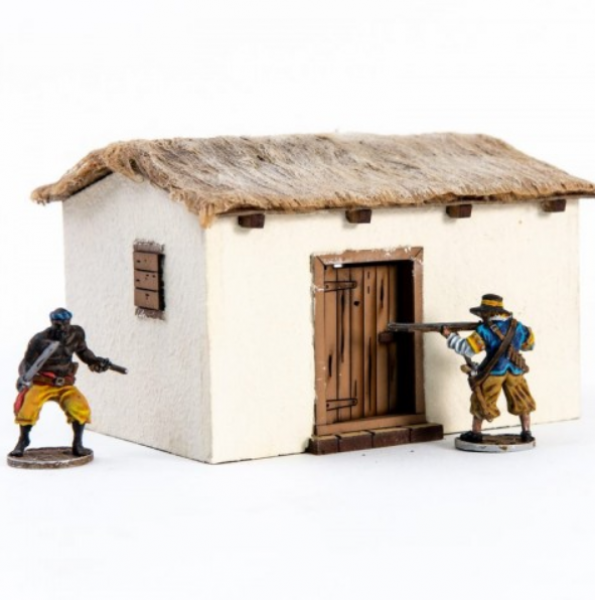4Ground Miniatures: 28mm Ports Of Plunder: Port Shed