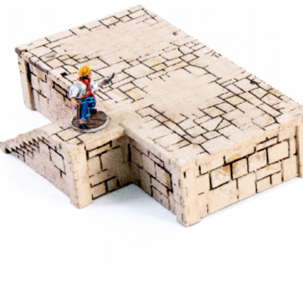 4Ground Miniatures: 28mm Ports Of Plunder: Short Dock with Stairs #2