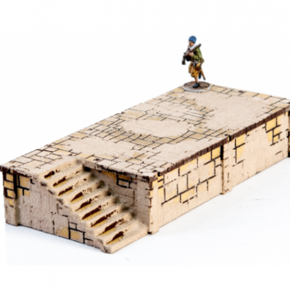 4Ground Miniatures: 28mm Ports Of Plunder: Short Dock with Stairs #3