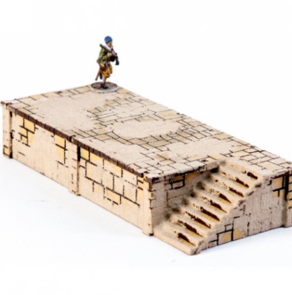 4Ground Miniatures: 28mm Ports Of Plunder: Short Dock with Stairs #4