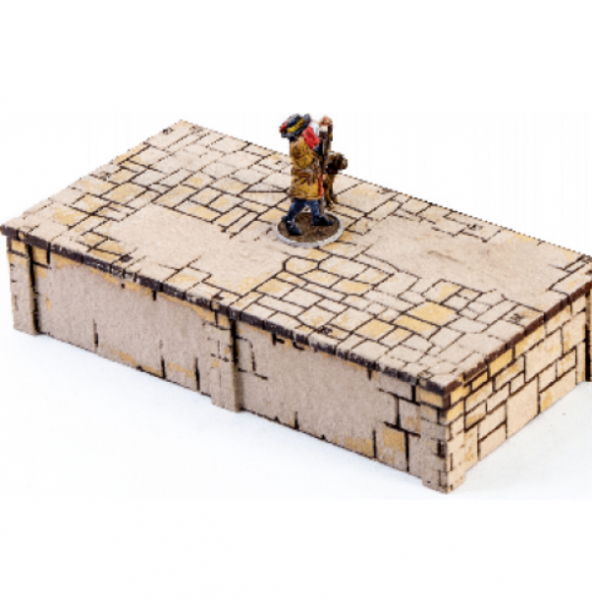 4Ground Miniatures: 28mm Ports Of Plunder: Short Dock