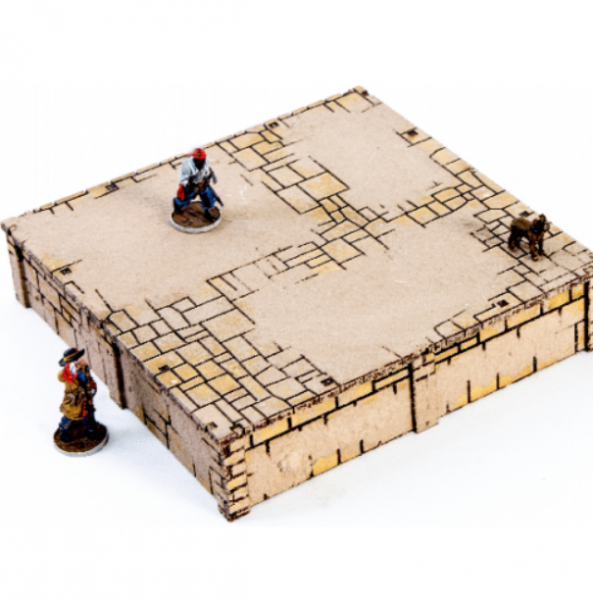 4Ground Miniatures: 28mm Ports Of Plunder: Square Dock