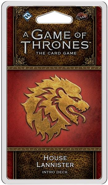 A Game of Thrones Card Game (2nd Edition): House Lannister Intro Deck