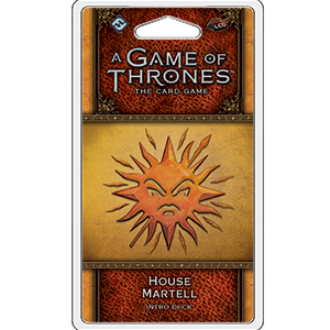 A Game of Thrones Card Game (2nd Edition): House Martell Intro Deck