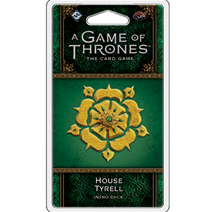 A Game of Thrones Card Game (2nd Edition): House Tyrell Intro Deck