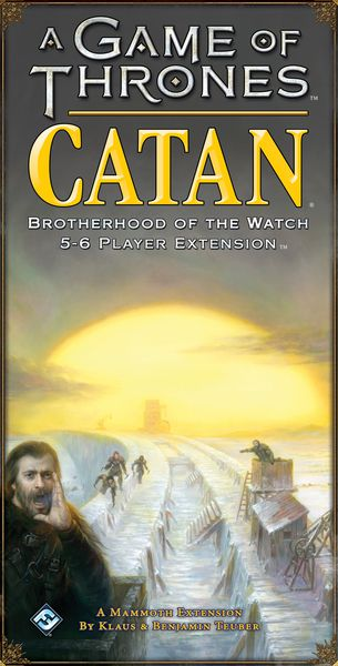 A Game of Thrones Catan: Brotherhood of the Watch- 5-6 Player Expansion
