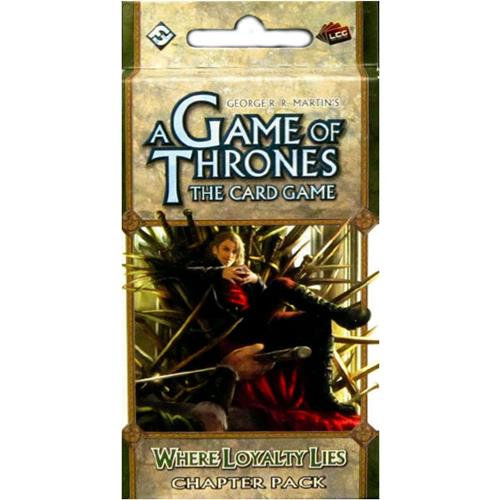 A Game of Thrones LCG: Where Loyalty Lies