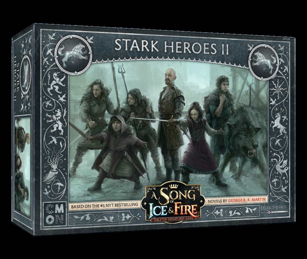 A Song of Ice & Fire: Stark- Heroes 2