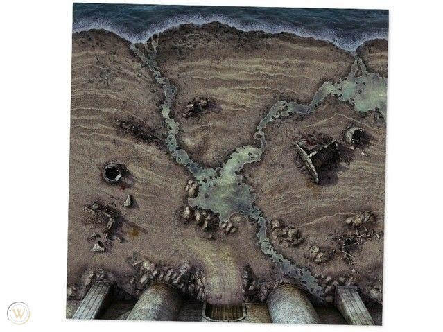 A Song of Ice & Fire: Blackwater Bay Playmat
