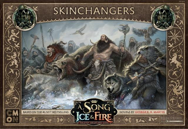 A Song of Ice & Fire: Free Folk- Skinchangers