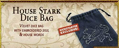 A Song of Ice & Fire: Stark- Dice Bag