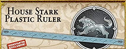 A Song of Ice & Fire: Stark- Plastic Ruler