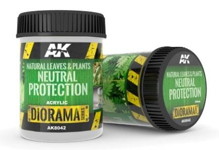 AK-Interactive Acrylic Diorama Series: Natural Leaves & Plants Neutral Protection