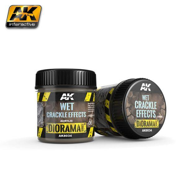 AK-Interactive Acrylic Diorama Series: Wet Crackle Effects