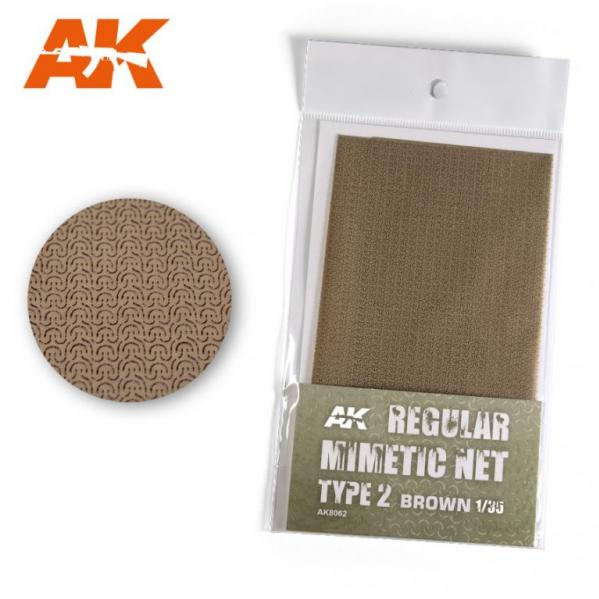 AK-Interactive: Camouflage Mimetic Net type 2 - Sand
