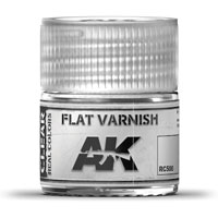 AK-Interactive Real Colors RC500: Flat Varnish