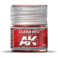 AK-Interactive Real Colors RC503: Clear Red