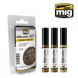 AMMO Oilbrusher: Ground Colors Set