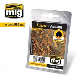 AMMO Scenery Leaves: Lime/Autumn