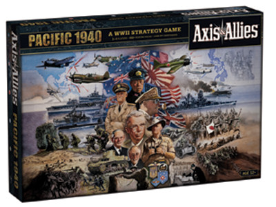 Axis & Allies Pacific 1940 (2nd Edition) [DAMAGED]