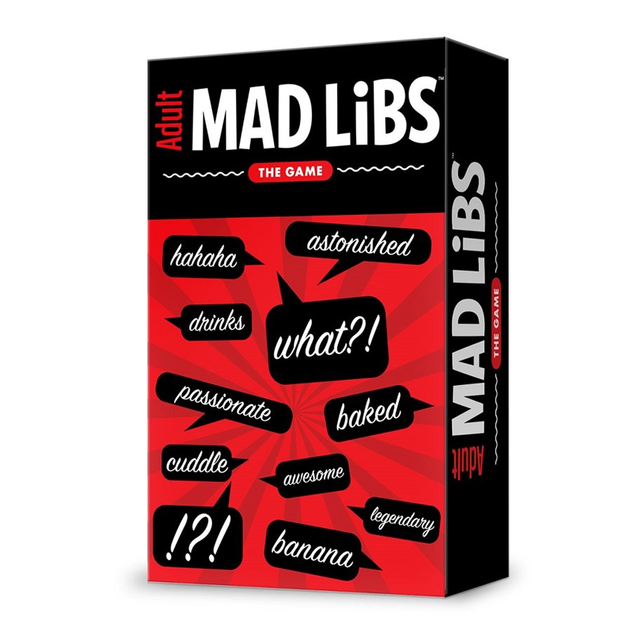 Adult Mad Libs [Damaged]