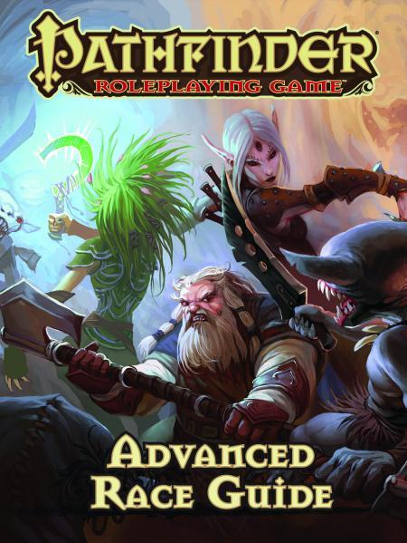 Pathfinder: Advanced Race Guide [Damaged]