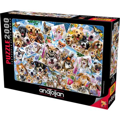Anatolian Puzzles (2000): Selfie Pet Collage