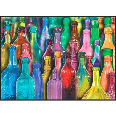 Anatolian Puzzles (1000 Piece): Colourful Glass (Damaged)