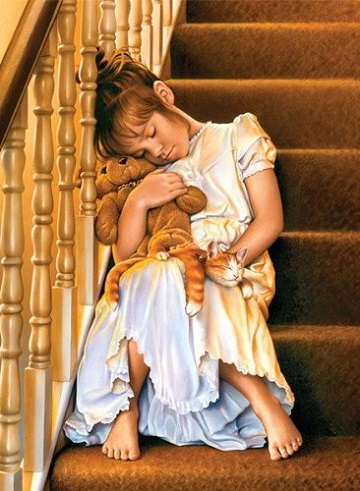 Anatolian Puzzles: ASLEEP ON THE STAIRS