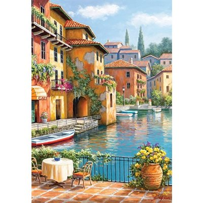 Anatolian Puzzles: Cafe At The Canal