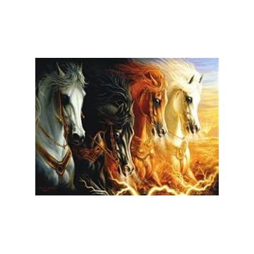 Anatolian Puzzles: FOUR HORSES OF APOCALYPSE [Damaged]