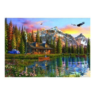 Anatolian Puzzles: Old Log Cabin