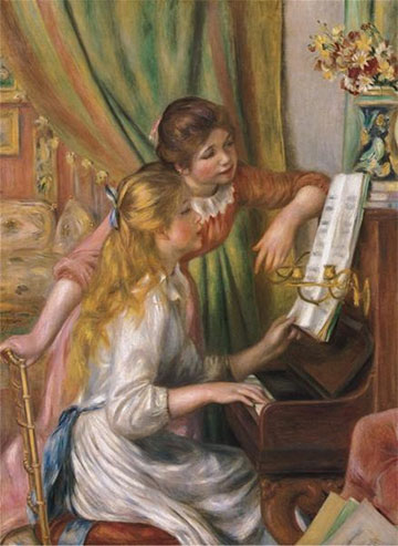 Anatolian Puzzles (1000): YOUNG GIRLS AT PIANO