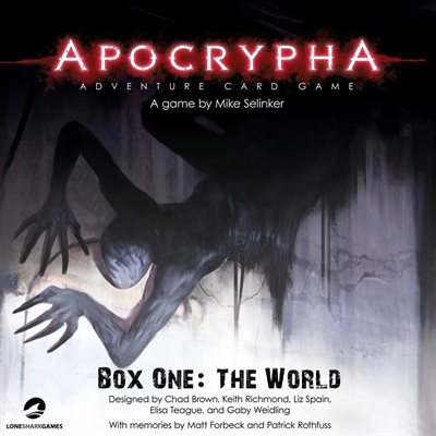 Apocrypha Box One: The World [Damaged]