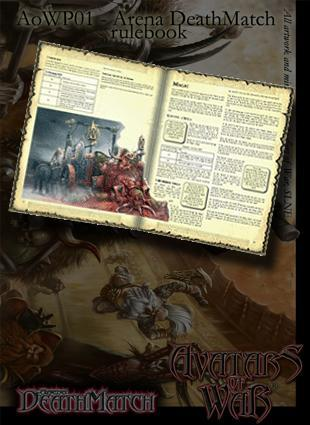 Arena deathmatch rule book for