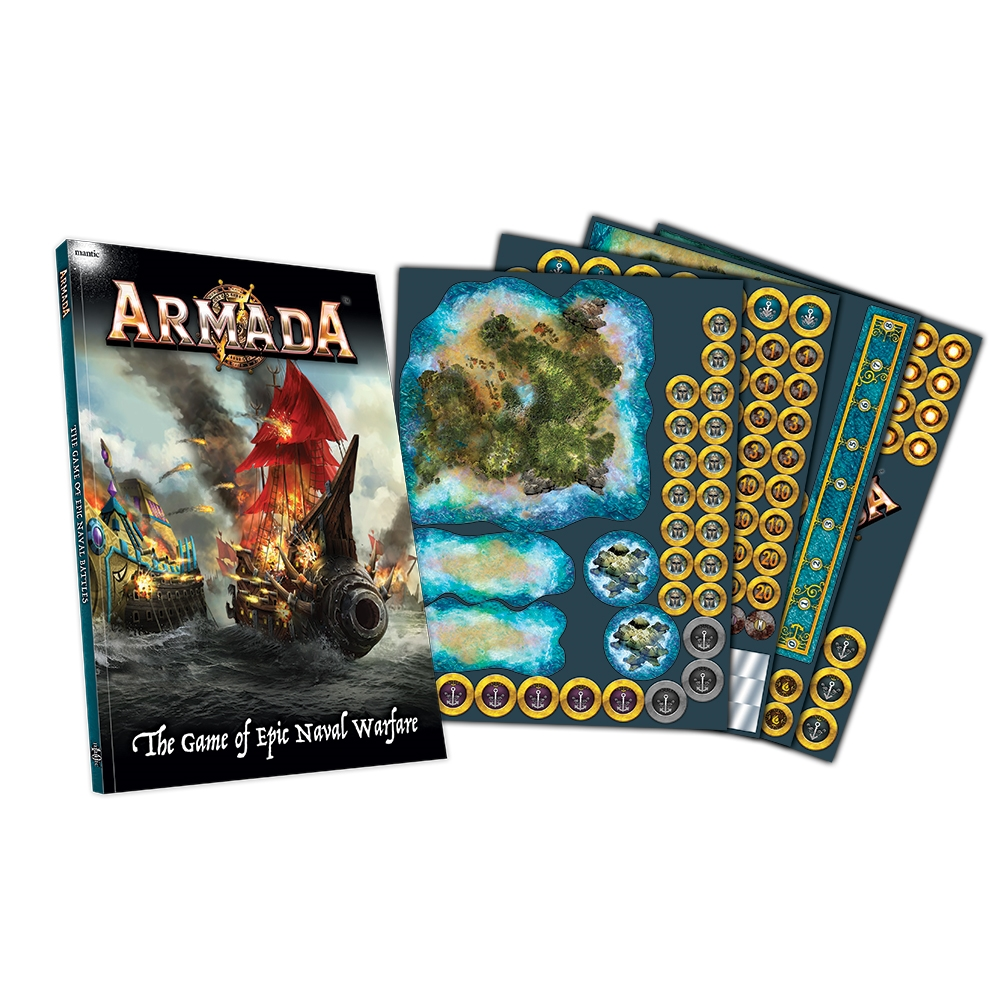 Armada: RULEBOOK AND COUNTERS