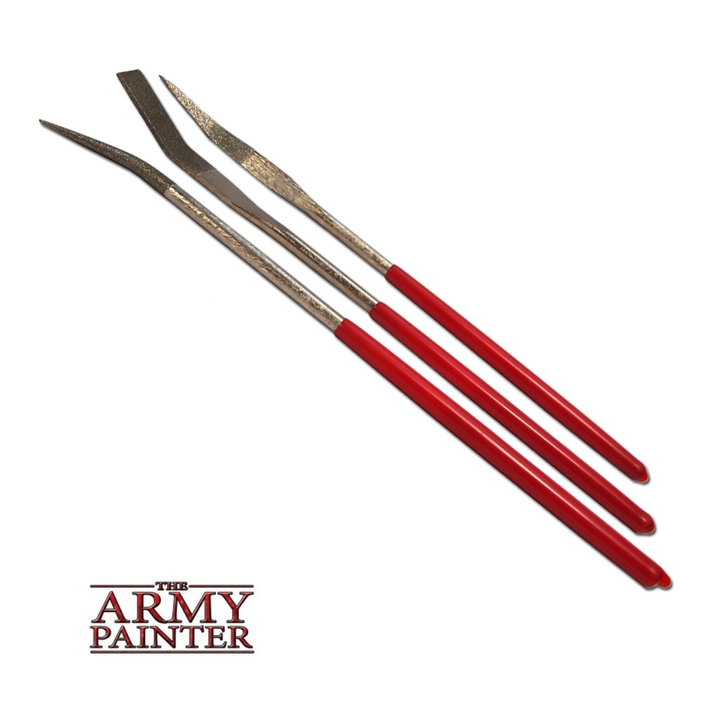 Army Painter: Speciality Curved Files