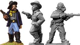 Artizan Designs Wild West: 7th Cavalry Troopers (Foot)