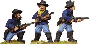 Artizan Designs Wild West: 7th Cavalry with Carbines (Foot)