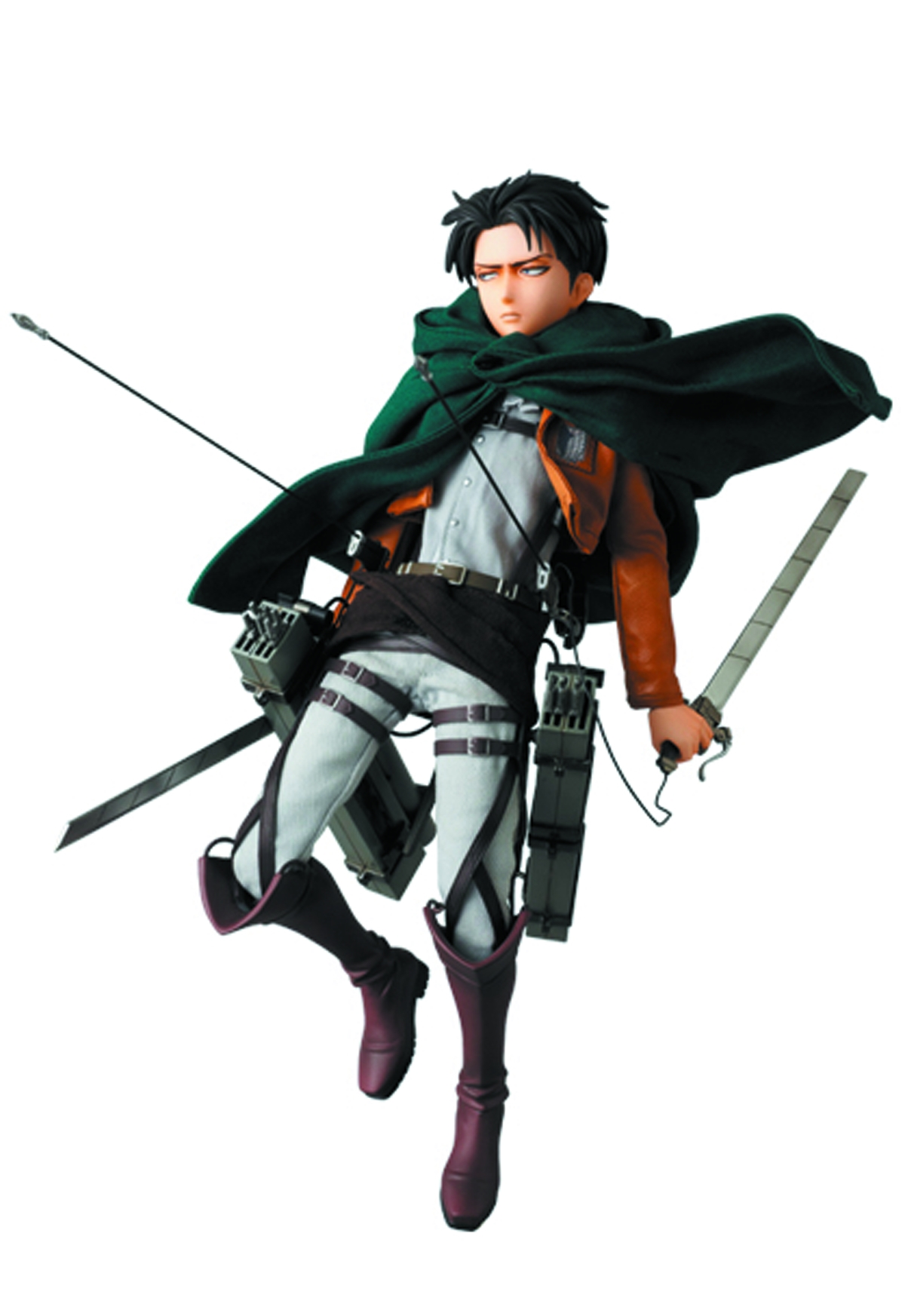 "Attack On Titan: Levi (Real Action Hero 12"" Figure)"
