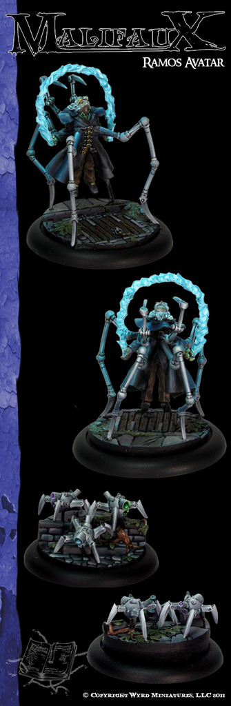 Malifaux: Arcanists: Ramos - Avatar of Invention [SALE]
