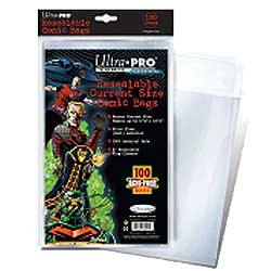 Ultra Pro: Resealable Current Size Comic Bags