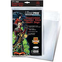 Ultra Pro: Resealable Regular Size Comic Bags