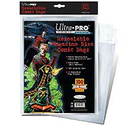 Ultra Pro: Resealable Magazine Size Comic Bags